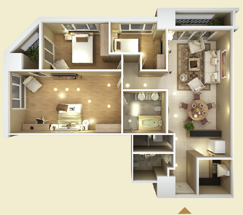APARTMENT DESIGN C