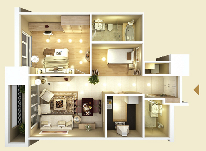 Design of Apartment type B