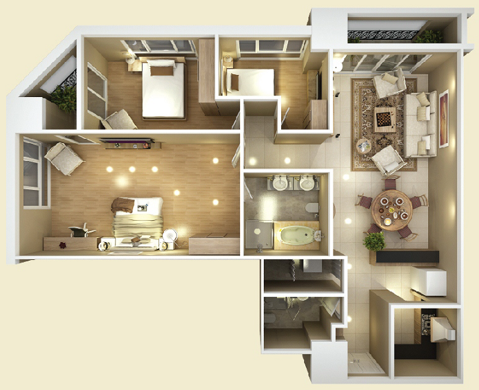 Design of Apartment type C